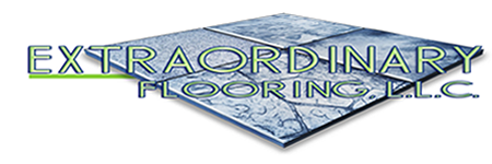 Extraordinary Flooring, LLC. Logo